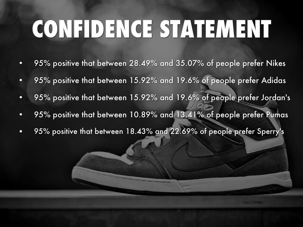 adidas positioning statement