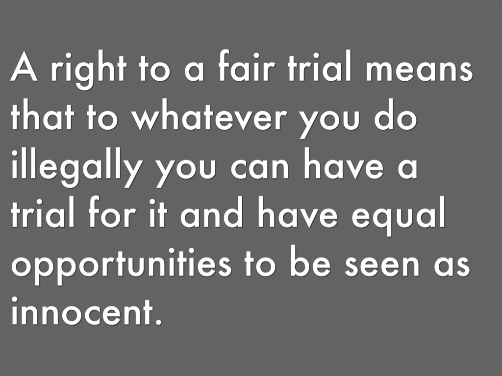 did riel have a fair trial