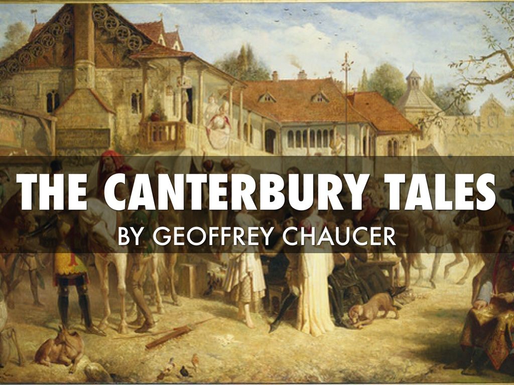 an overview of the catholic churchs description of geoffrey chaucer in the canterbury tales Geoffrey chaucer's depiction of the church in the canterbury tales poetry is an excellent way to express your feelings and beliefs a sensitive subject on which many poets focus is that of religion.