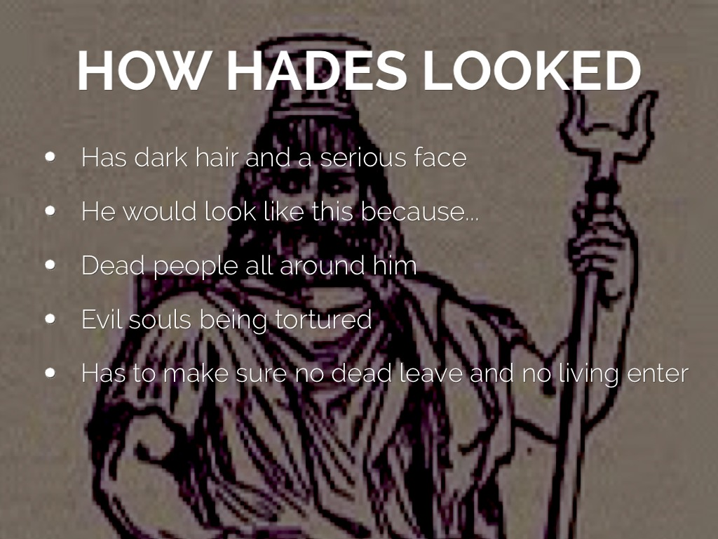the facts on hades impact essay Why is zeus important he was the brother of poseidon and hades, lords of the sea and the underworld, respectively he was much more powerful than them.