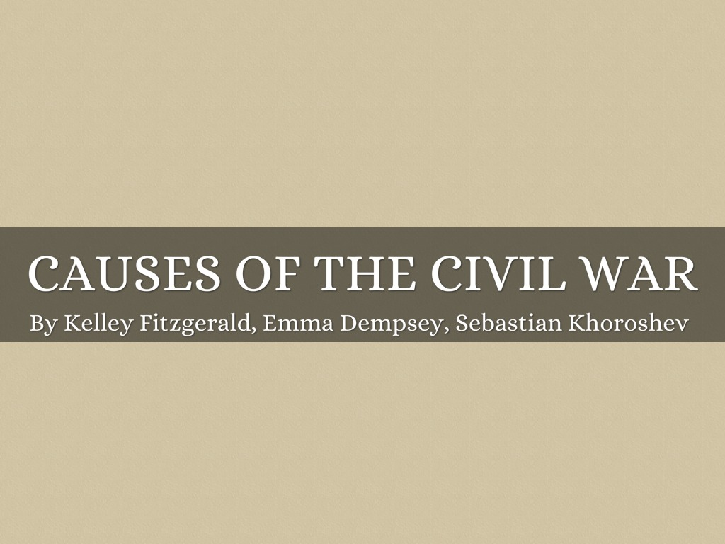 the causes of conflicts for the civil war The direct causes of the conflict relate to popular discontent with the government   climate change and the syrian civil war (ecc factbook conflict analysis.