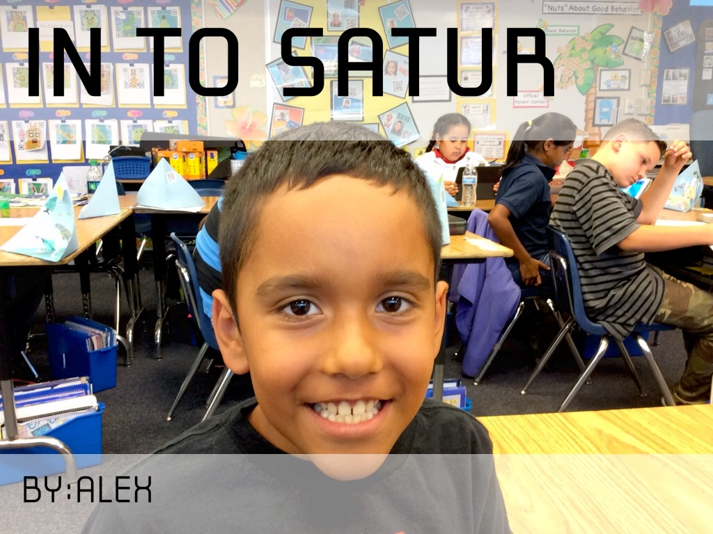 A Trip To Saturn
