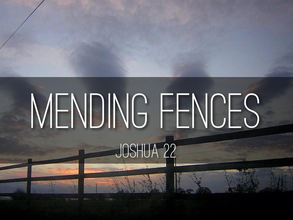 Mending Fences by Jake Hudson