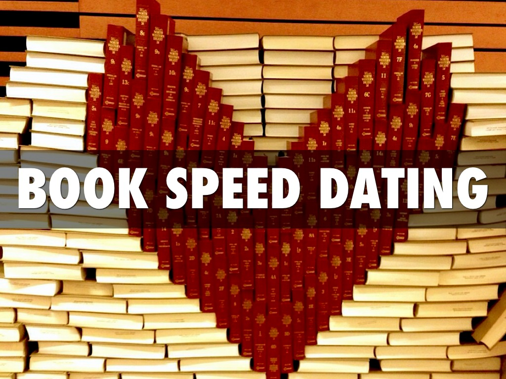 Speed Dating for Readers Tierney James Author