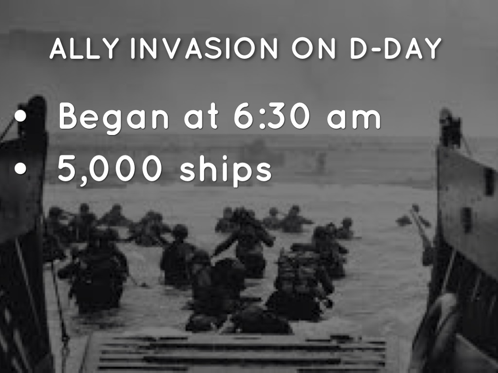 essay on d-day invasion D-day to berlin essay d-day to berlin was one of the first films in color, and one of the only world war ii films that is in color, as recently filmed history was mostly black-and-white the documentary begins with other black and white images of d-day, but later switches in to full color.
