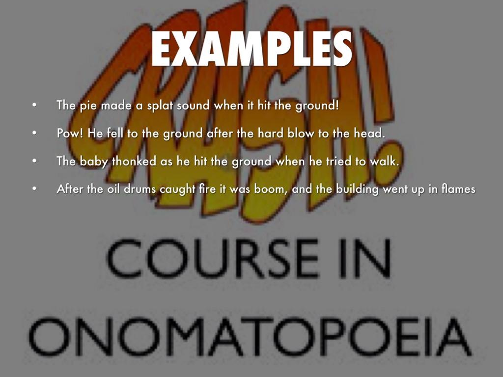 La Onomatopoeia By Travis Thompson