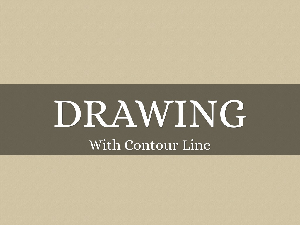 Contour Line Drawing Powerpoint : Contour line an introduction to the basics by jeremy