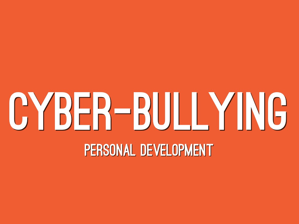 Cyber bullying awareness color