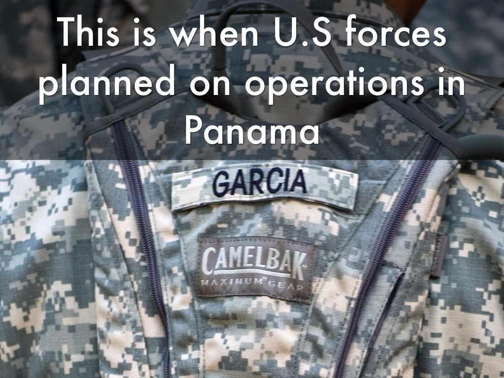 the invasion of panama Operation nifty package part of the united states invasion of panama: noriega is escorted onto a us air force aircraft by agents from the us drug enforcement administration (dea.