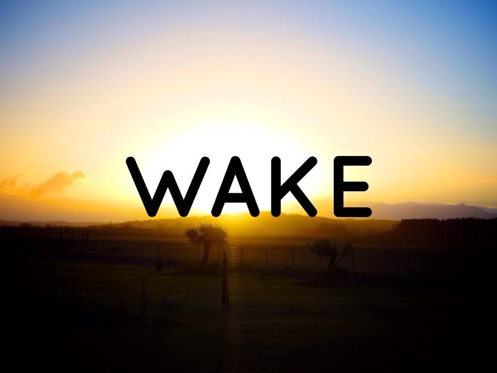 Wake (diapositiva)