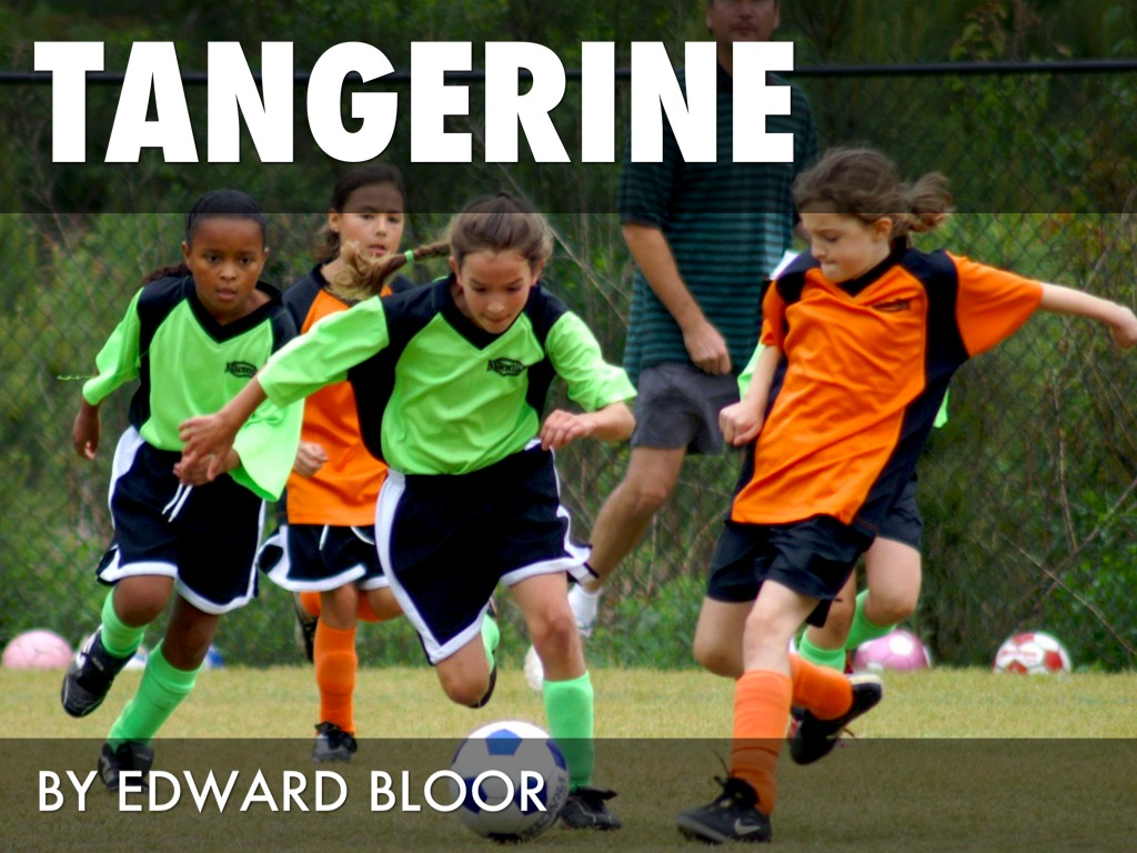 an analysis of edward bloors tangerine Used from dcjnq for a study guide for edward bloor's tangerine, excerpted from gale's acclaimed novels for students this concise study guide includes plot summary character analysis.