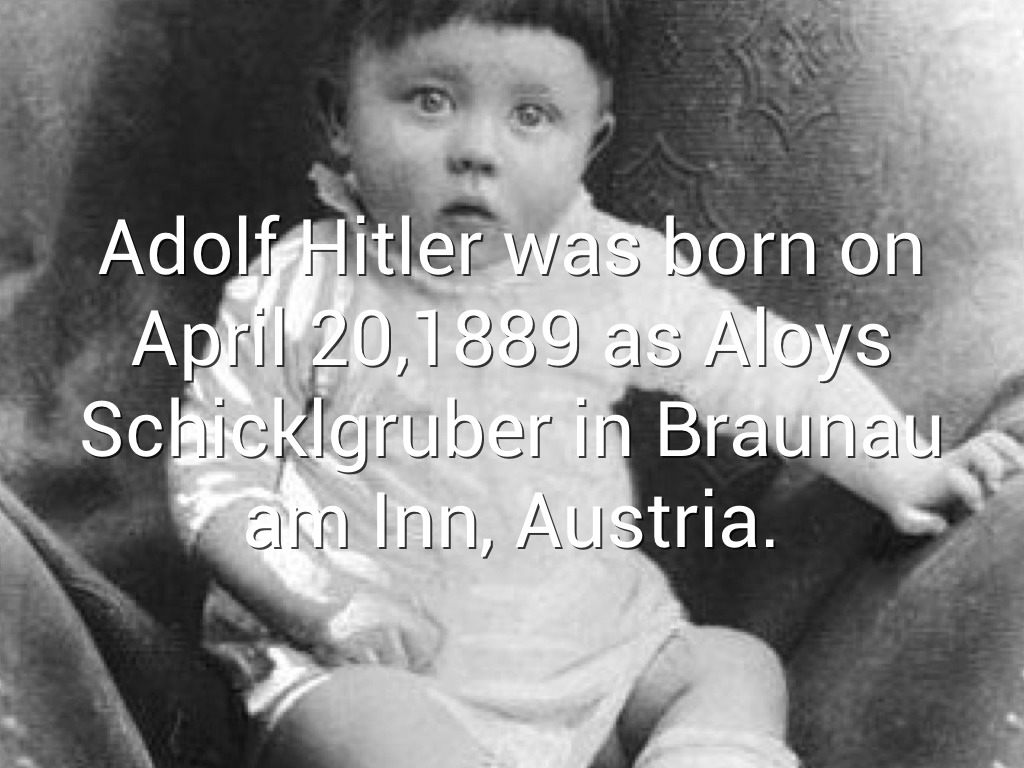a biography of adolf hitler an austrian born german leader in world war two Adolf hitler, the leader of germany's nazi party, was one of the most  led to the  outbreak of world war ii, and by 1941 nazi forces had occupied much of europe   adolf hitler was born on april 20, 1889, in branau am inn, a small austrian.