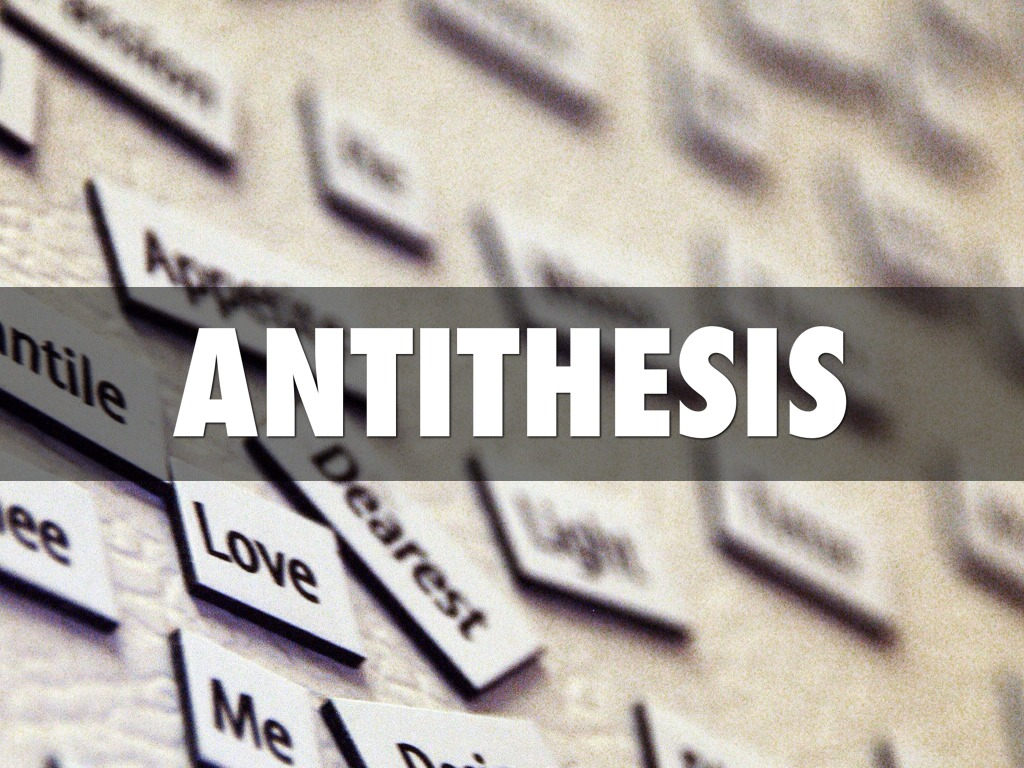 picture of antithesis custom paper sample 2311 words