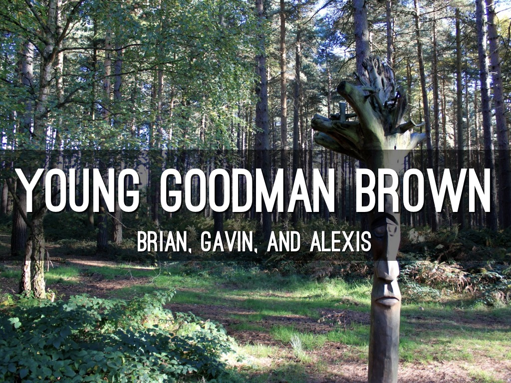 young goodman brown outline