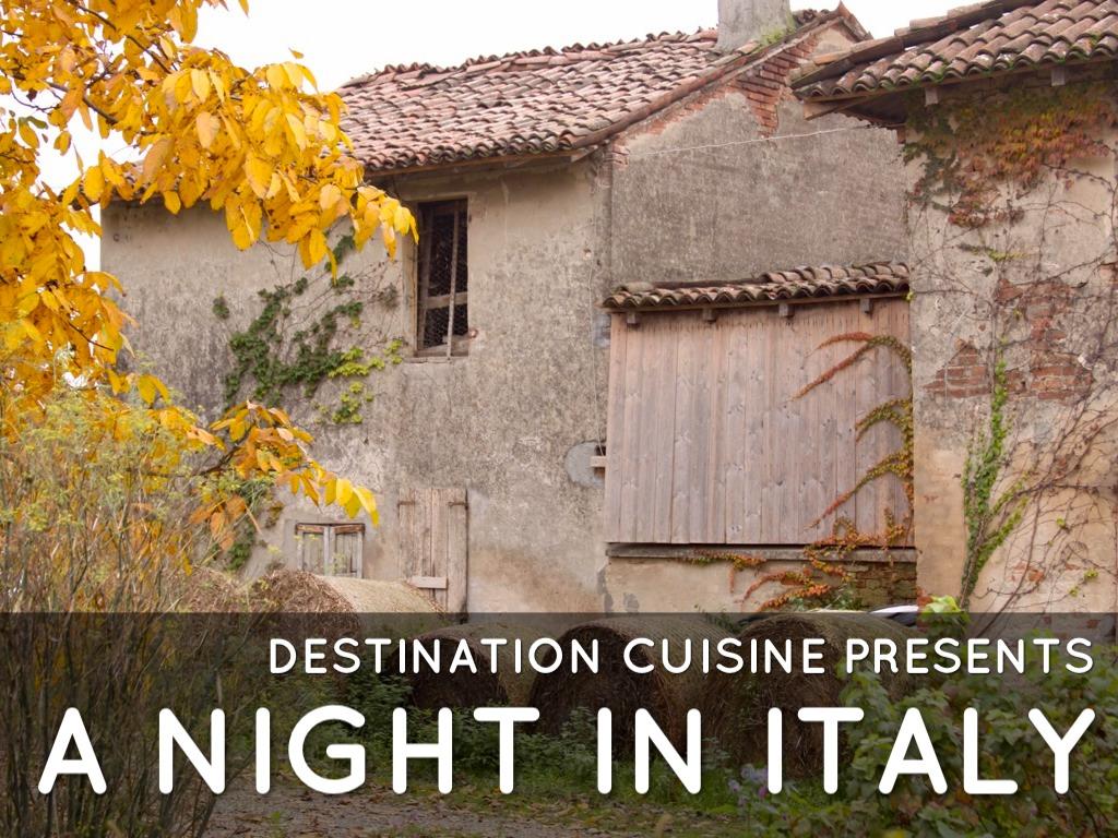 Italian Dinner Night
