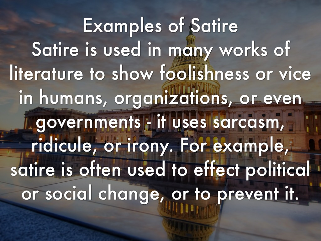 satire essay English 11 cp name_____ springboard level 6 date_____ unit 2 ea 2: writing a satirical piece student examples.