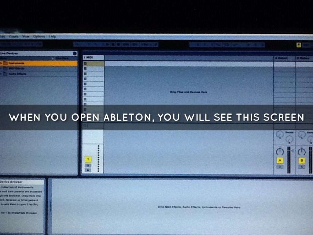 how to play a midi in ableton