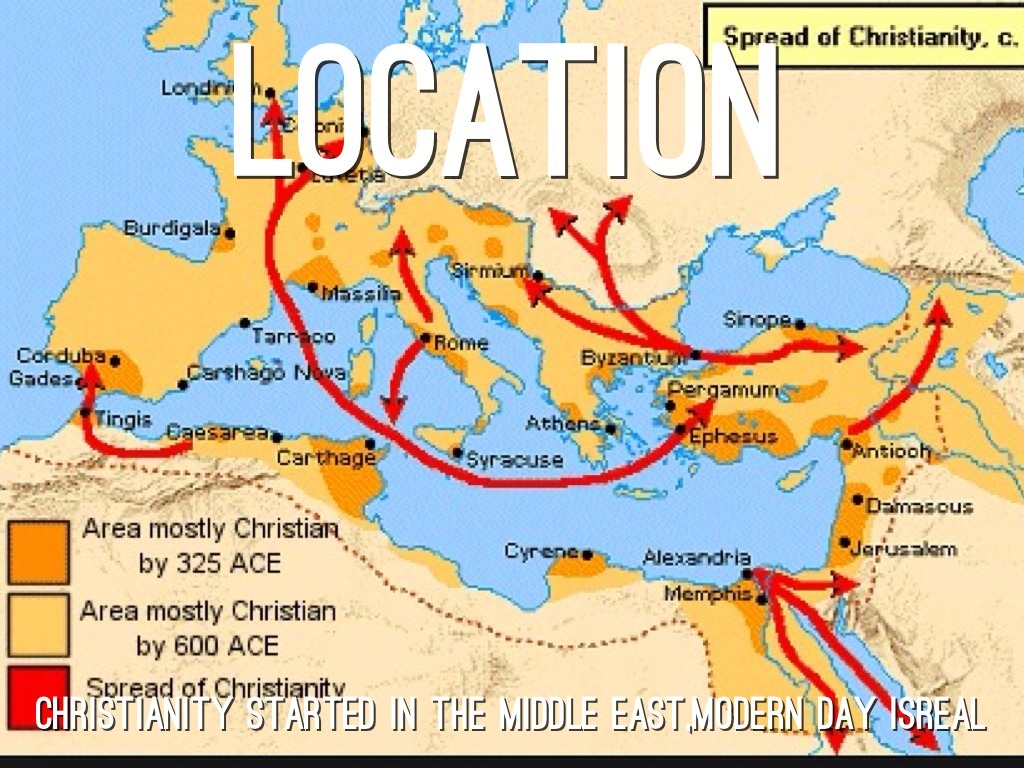 an overview of the spread of christianity in the graeco roman world Spread of christianity essay examples an overview of the spread of christianity in the graeco-roman world how christianity spread from the missions of.