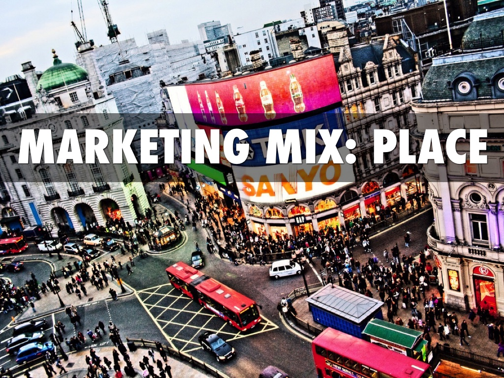 marketing mix place by muhannad munir