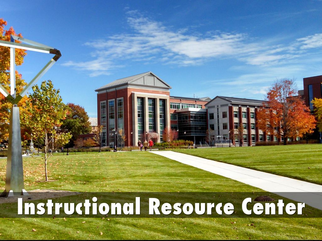 Copy Of Instructional Resource Center By Steven