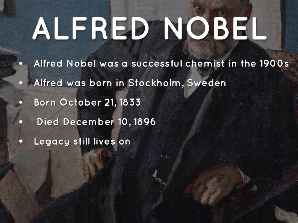 alfred nobel by jahlir thomas