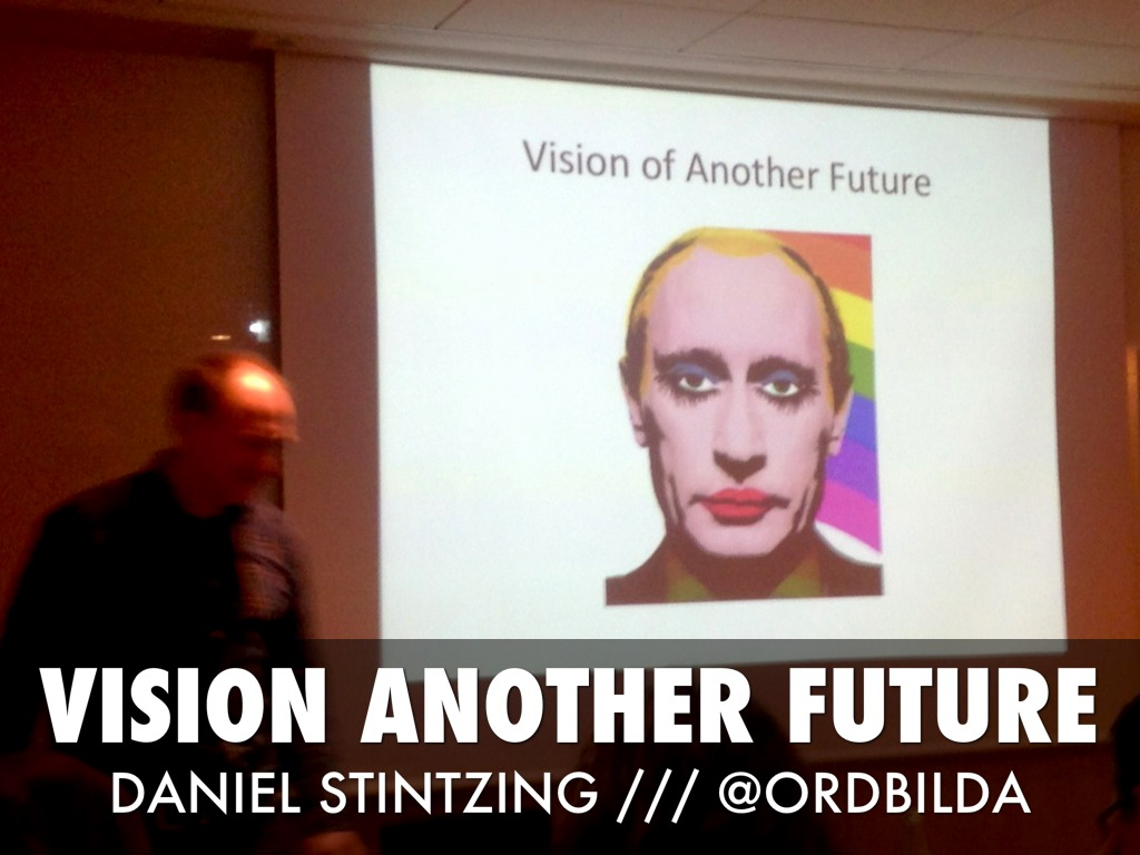 Vision Another Future /// DANIEL STINTZING /// @ORDBILDA