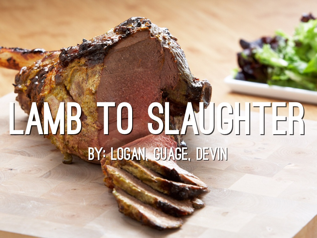 lamb to slaughter