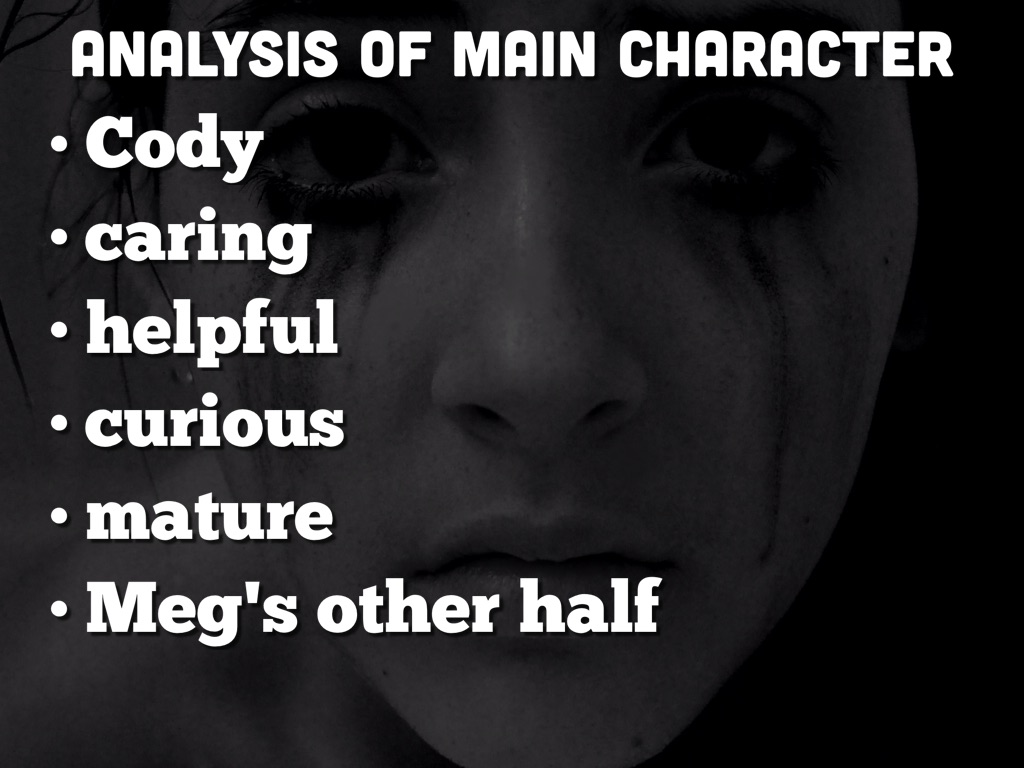 analysis of a main character The following analysis reveals a comprehensive look at the storyform for toy story unlike most of the analysis found here—which simply main character thematic.