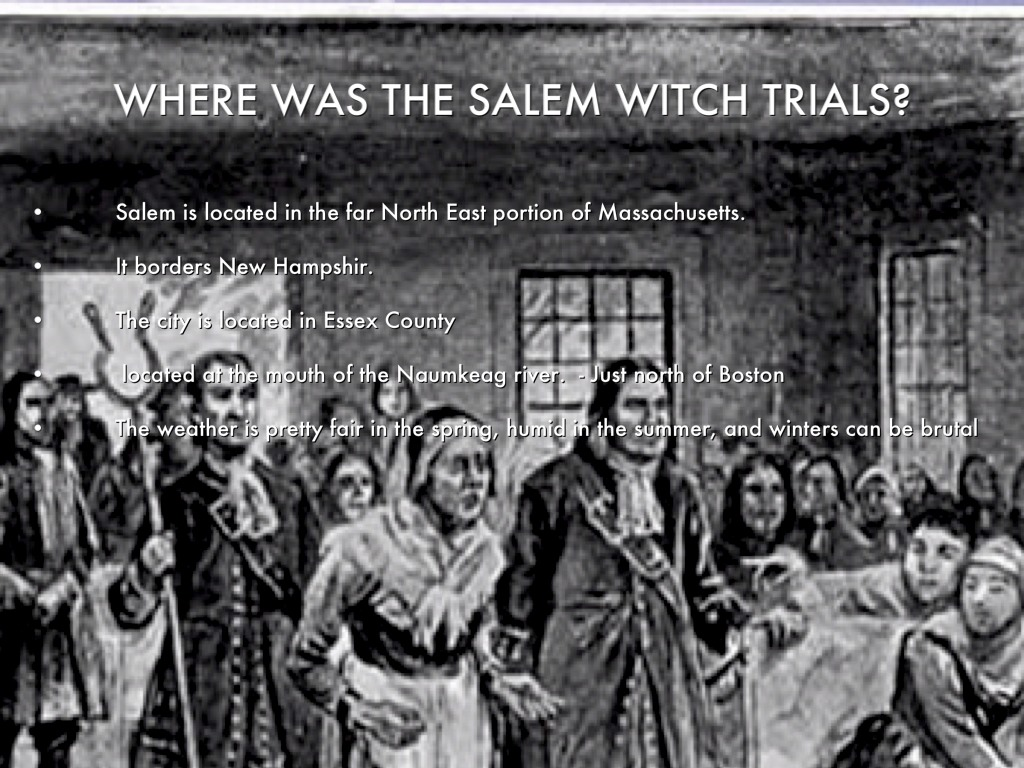 "an overview of the salem witchcraft trials of 1962 Overview an extended essay in history (including islamic history) provides students with an opportunity to  ""varying interpretations of the salem witch trials"" is better than ""witch trials in north  categorize and evaluate selected explanations of the 1962 missile crisis in the 1960s, 1970s and 1980s."