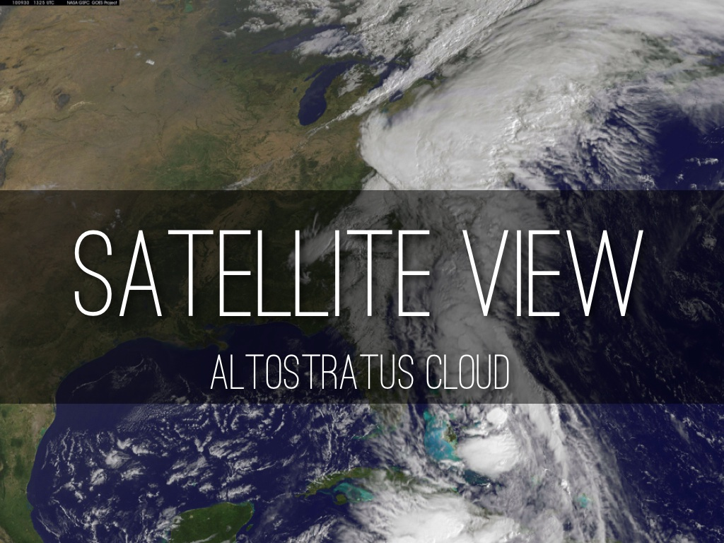 Online Images for: A World of Weather |Altocumulus Clouds Satellite