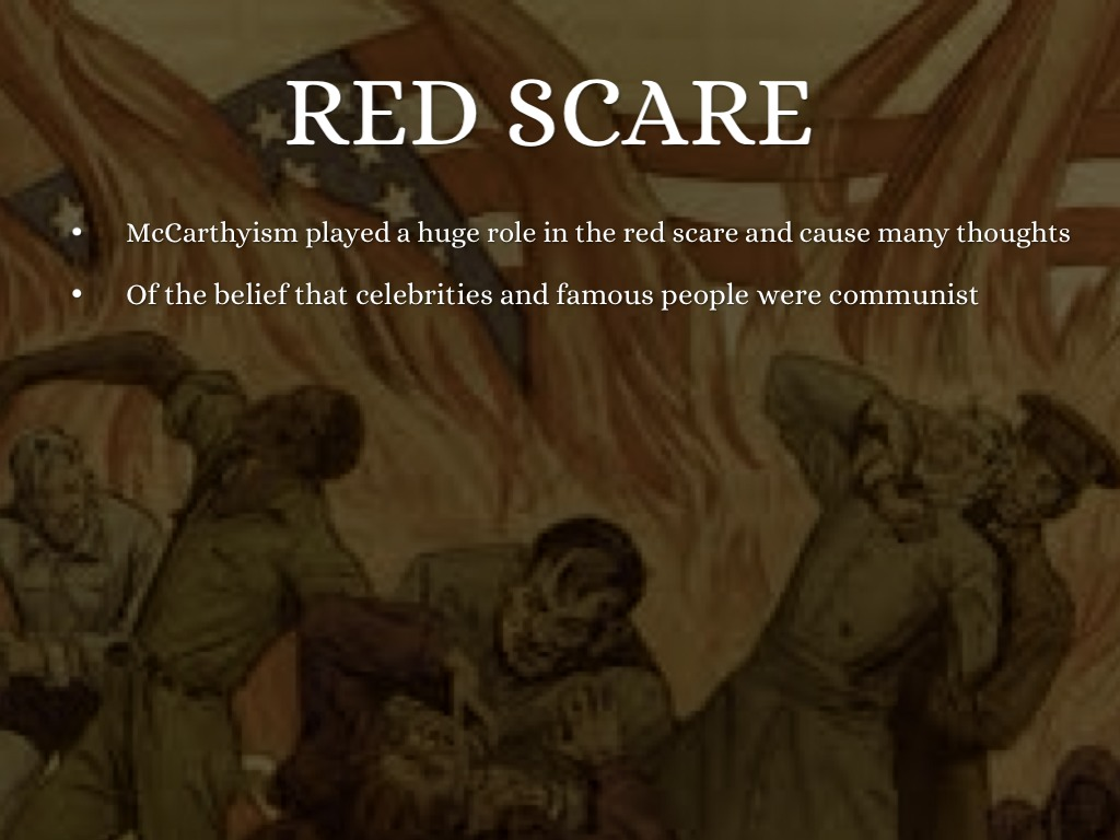 red scare rise of mccarthyism