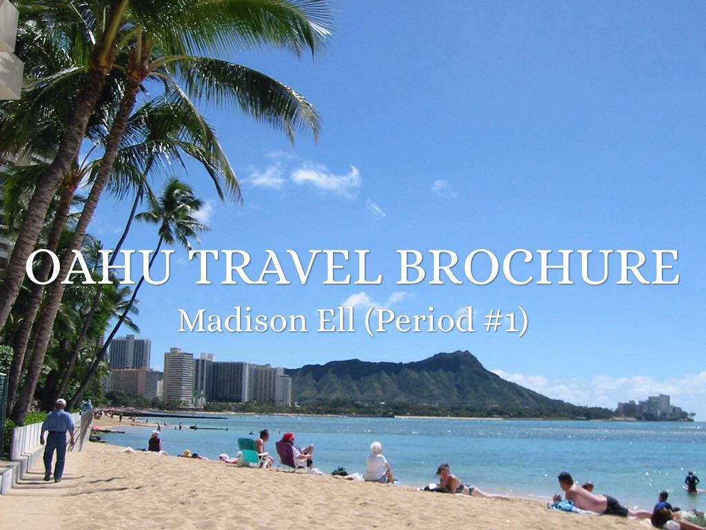 Oahu Travel Brochure