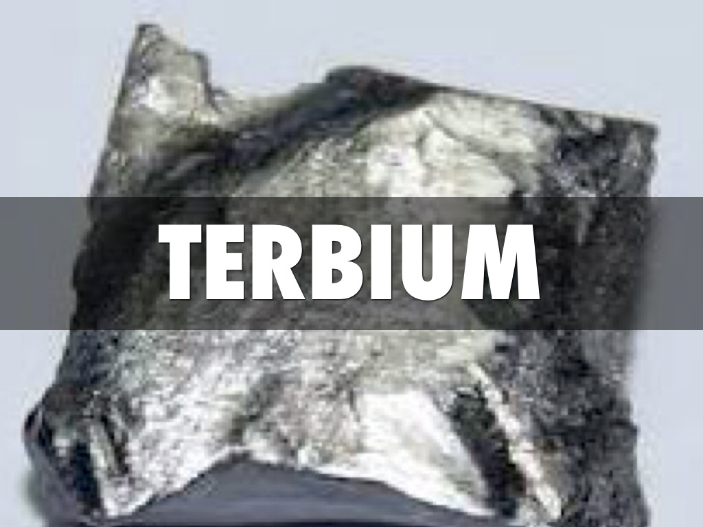 Physical Properties Of Terbium