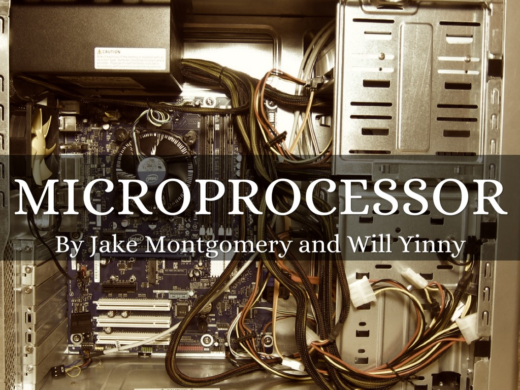 Will And Jake Microprocessor