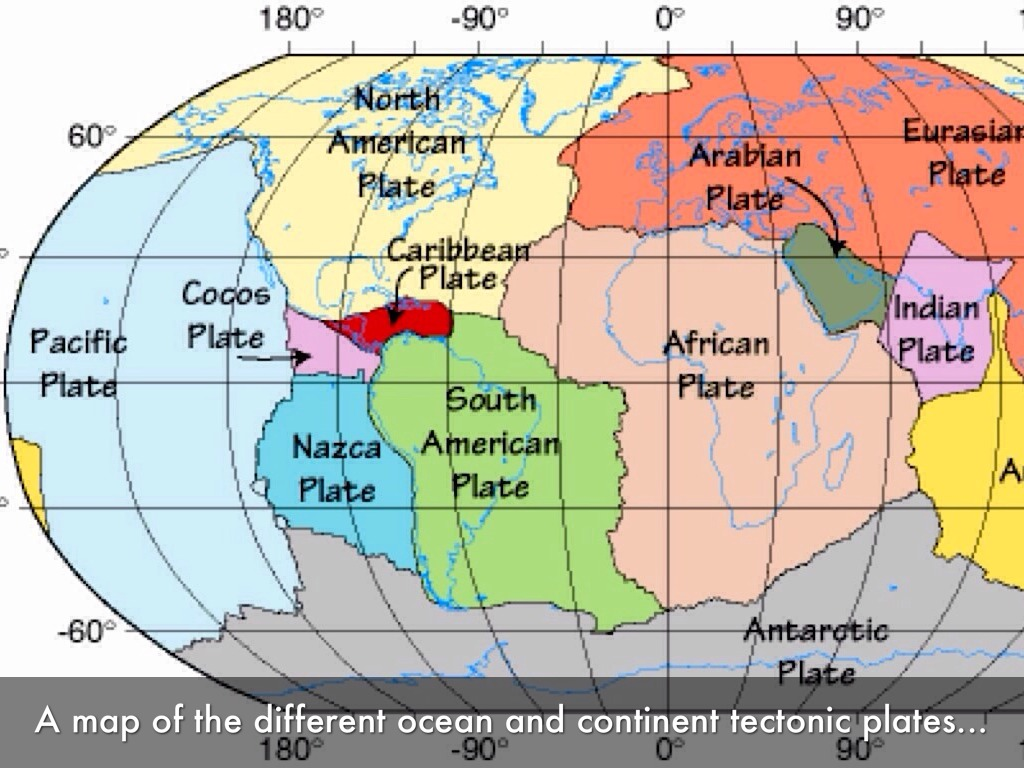 World Map Including Tectonic Plates on 2002 toyota corolla tail light