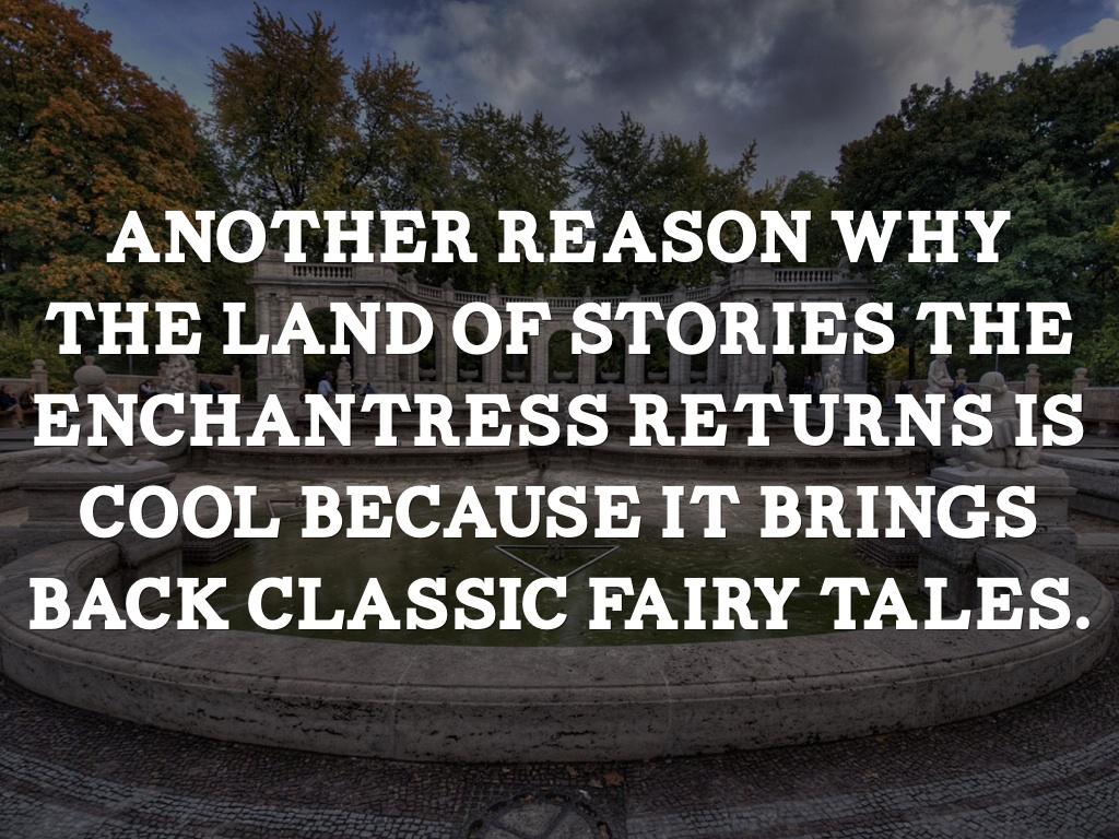 The Land Of Stories The Enchantress Returns by Kiara