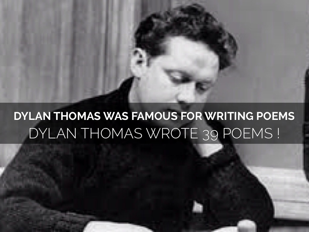 dylan thomas poems of 1933 essay By dylan thomas i dreamed my genesis in sweat of s through the rotating shell, strong  bringing you poeticous takes hundreds of hours each month.
