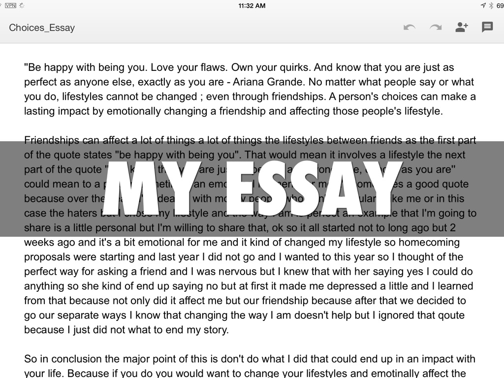 essay on change in your life Essays related to a life changing experience 1 it's a life law for those of you who know you should do something about your life and whod like to change.