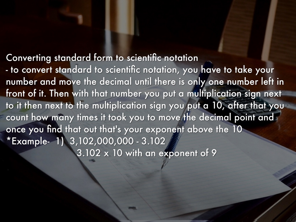 Scientific notation by lizzie guerrero slide notes falaconquin