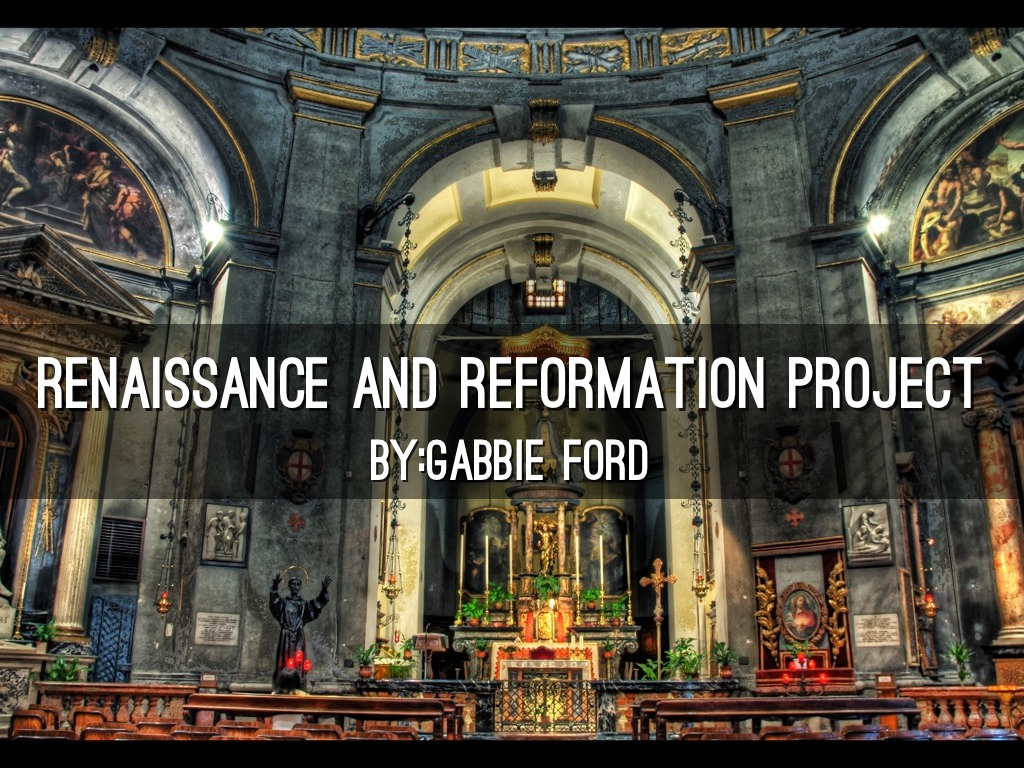 renaissance and reformation The renaissance and reformation the renaissance period: (14th - 17th centuries) 1 meaning rebirth or revival --- historical period of approximately 300 years marked by a revival in art, literature, and learning.
