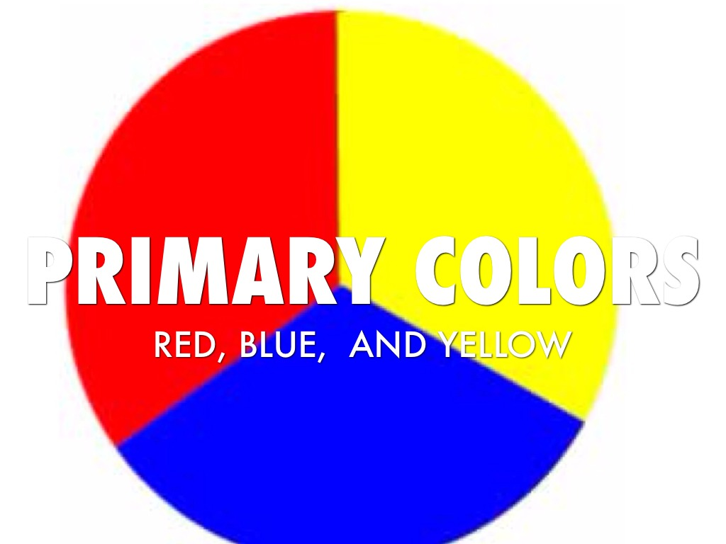Primary And Secondary Colors Presentation By Catherine