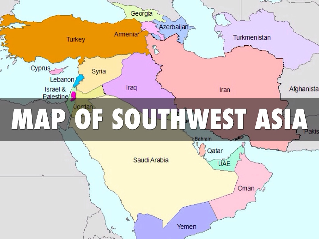 People And Culture Of Southwest Asia & North Africa by