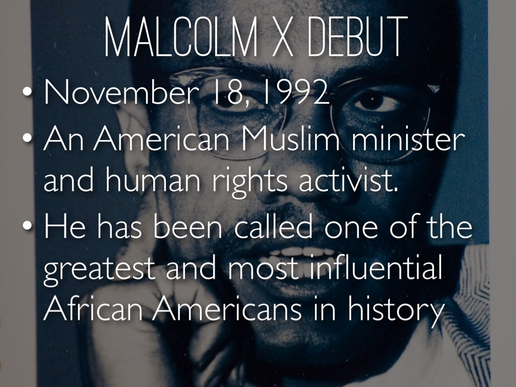 a biography of malcolm x an american muslim minister and human rights activist Transcript of malcolm x: human rights activist was an african american muslim and human rights activist malcolm was put biography the official malcolm x.
