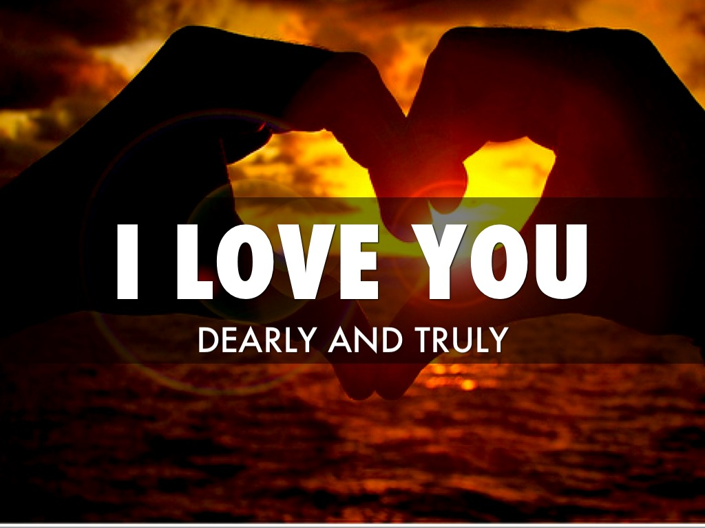 I Love You Dearly By Melissa Webster