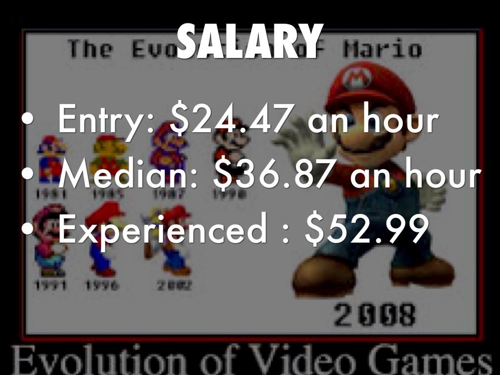 Character Designer Job Salary : Video game designer salary sokanu the various