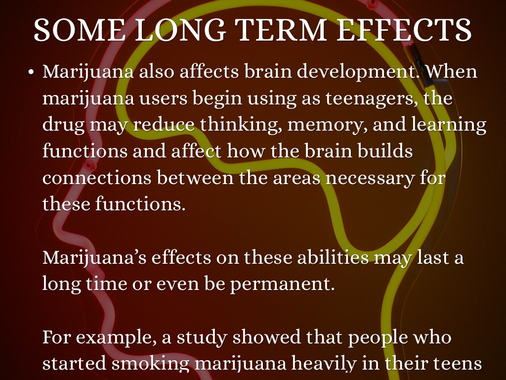 the effects of marijuana on the Though researchers have been studying the effects of marijuana for decades, the  science has really exploded just in the last 20 years, due in.