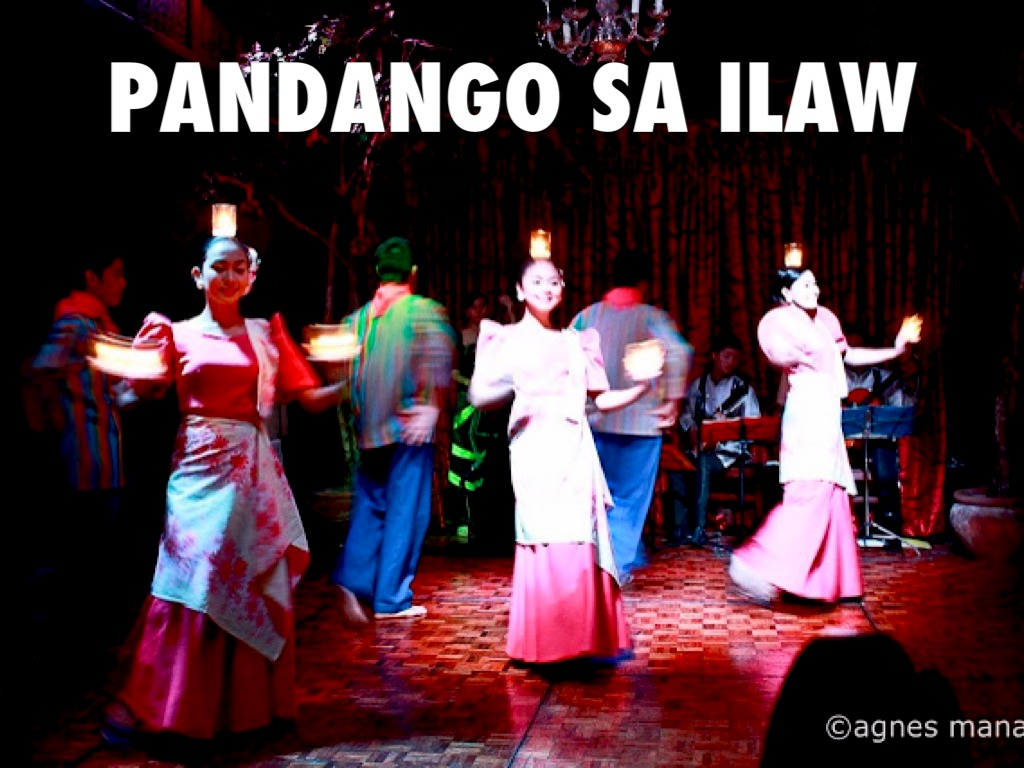 pandanggo sa ilaw basic step Two of the most popular versions of pandanggo, as a performing art, are the pandanggo sa ilaw from mindoro, and oasioas another philippine folk dance.