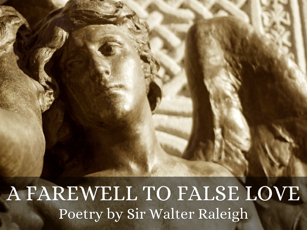 a farewell to false love