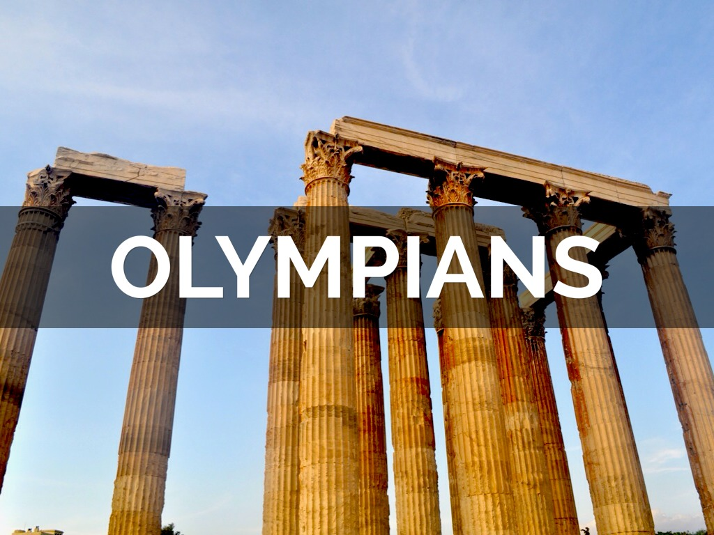 12 Olympians by mtenney12