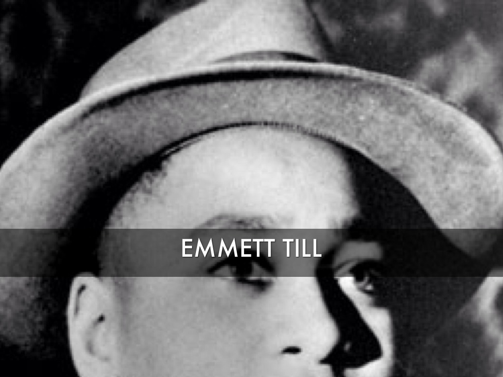 While visiting family in Money Mississippi 14yearold Emmett Till an African American from Chicago is brutally murdered for flirting with a white